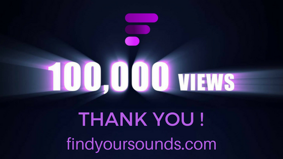 findyoursounds.com 100000 views thank you!