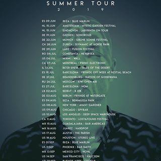 HOSH summer tour 2019 ile ilgili görsel sonucu