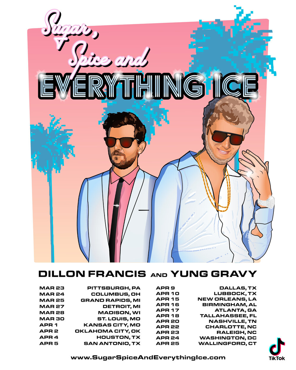 "DILLON FRANCIS & YUNG GRAVY KICK OFF 2020 WITH ""SUGAR, SPICE AND EVERYTHING ICE"" TOUR ile ilgili görsel sonucu"