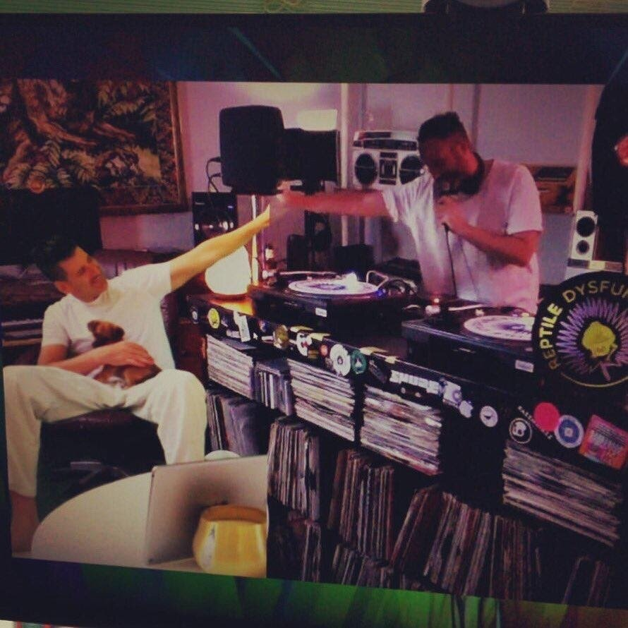 From Los Angeles, DESTRUCTO gives Doorly in Ibiza a virtual high-5.