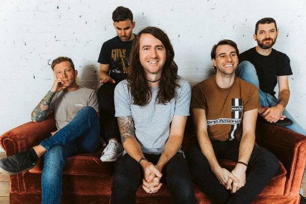 "MAYDAY PARADE - Releases ""First Train"" Video Featuring J. Gaven Wilde; New  Ep ""Out Of Here"" Out Now!"